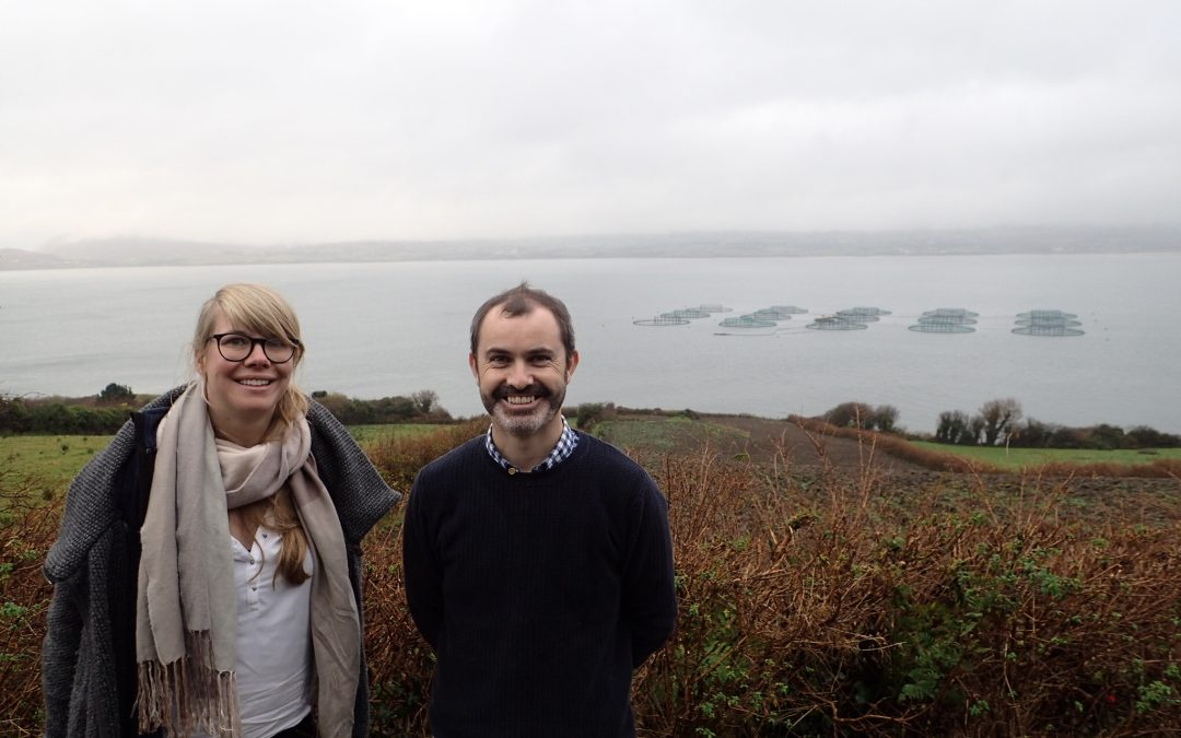 CERES scientists visit Irish salmon farms