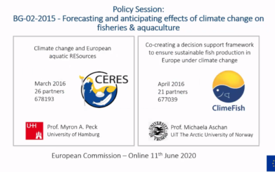 CERES & ClimeFish Policy Session with EC & REA